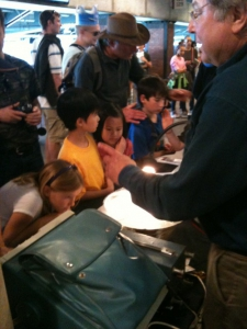 Discovery Day at the Bay Area Science Festival, AT&T Park, 2012